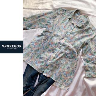 マックレガー(McGREGOR)のマックレガー リバティ 花柄ブラウス(シャツ/ブラウス(長袖/七分))