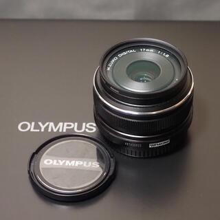 OLYMPUS - オリンパス  単焦点レンズM.Zuiko 17mmF1.8超美品!