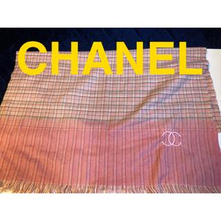 シャネル(CHANEL)の値下げ♩CHANEL ココマーク ストール ブランケット(マフラー/ショール)