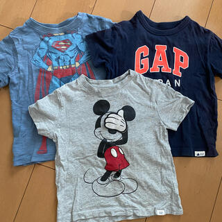 ギャップキッズ(GAP Kids)のbaby GAP Tシャツ3枚セット 80センチ/子供半袖Tシャツ(Tシャツ)