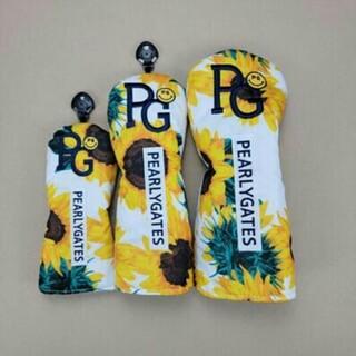 パーリーゲイツ(PEARLY GATES)の大人気  パーリーゲイツ ヘッドカバー 3点セット 新品(その他)
