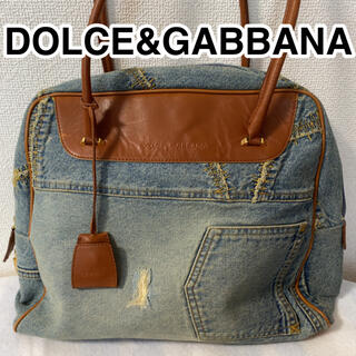 DOLCE&GABBANA - ドルチェ&ガッバーナ DOLCE&GABBANA デニム生地 ハンドバッグ
