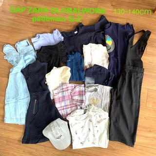 GAP Kids - 子ども服まとめ売り 女の子用 130-140cmなど15点