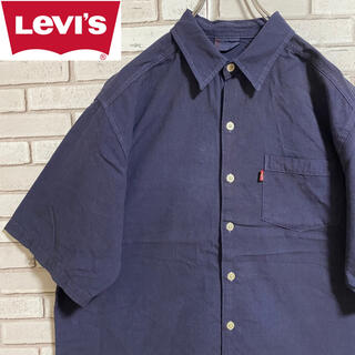 リーバイス(Levi's)の90s 古着 リーバイス L 半袖シャツ ビッグシルエット ゆるだぼ(シャツ)