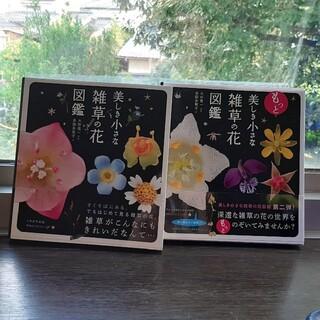 新品「美しき小さな雑草の花図鑑」「もっと美しき小さな雑草の花図鑑」多田多恵子(趣味/スポーツ/実用)