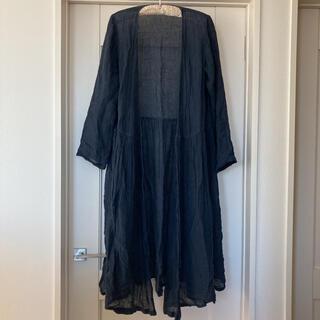 ネストローブ(nest Robe)の【nest robe】ガーゼリネンカシュクールワンピース(ロングワンピース/マキシワンピース)