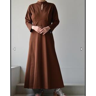 mame - 2021 MameKurogouchi Cotton Jersey Dress