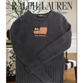 ラルフローレン(Ralph Lauren)のralph lauren ポロジーンズ・USAフラッグ・ニット(ニット/セーター)