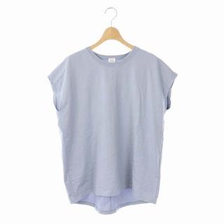 IENA - イエナ ラウンドテールプルオーバー Tシャツ カットソー 半袖 スモークブルー
