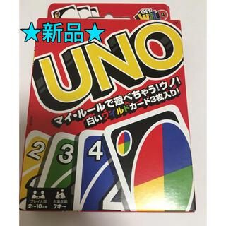 新品 UNO  ウノ カードゲーム (トランプ/UNO)