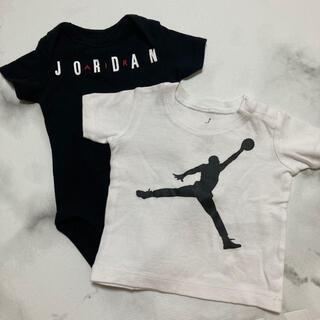 ナイキ(NIKE)のジョーダンロンパース&Tシャツセット(Tシャツ)
