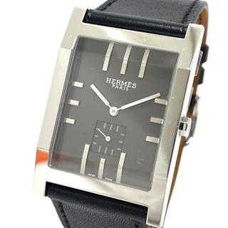 Hermes - エルメス TA1.810 スモセコ タンデム クオーツ メンズ腕時計 シルバー