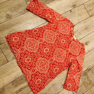 チャイハネ(チャイハネ)のチャイハネ オレンジシャツ(Tシャツ/カットソー(半袖/袖なし))