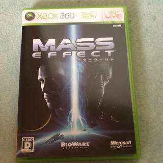 Xbox360 - MASS EFFCT⚫︎マス・エフェクト⚫︎Xbox360ソフト