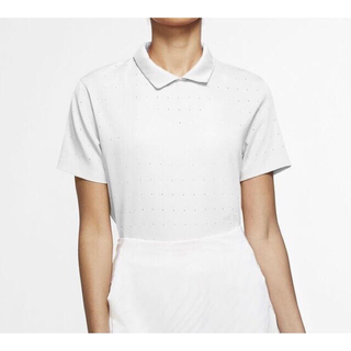 NIKE - ポロシャツ Lサイズ NIKE ナイキ ホワイト ドライフィット