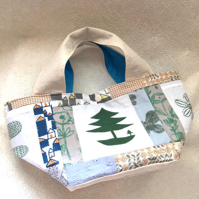 mina perhonen(ミナペルホネン)のハンドメイド❁⃘*.゚perhonensミニトートバッグ❁⃘*.゚ミナ ハンドメイドのファッション小物(バッグ)の商品写真