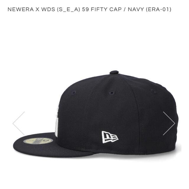ウィンダンシー ニューエラ キャップ windandsea ネイビー M  メンズの帽子(キャップ)の商品写真