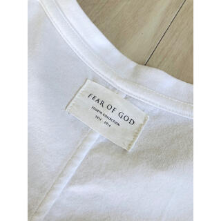 FEAR OF GOD - FEAR OF GOD 4th INSIDE OUT TEE インサイドアウトT