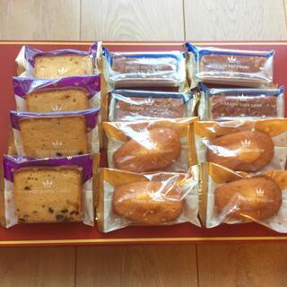 マドレーヌ ナッツケーキ フルーツケーキ 12個セット