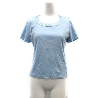 ハロッズ(Harrods)のハロッズ Harrods カットソー Tシャツ クルーネック 半袖 2 ブルー(Tシャツ(半袖/袖なし))