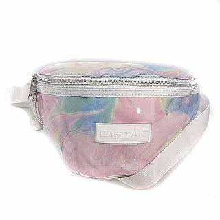 イーストパック(EASTPAK)のイーストパック LAB ウエストバッグ ボディバッグ マーブル ピンク 水色 紫(ボディバッグ/ウエストポーチ)