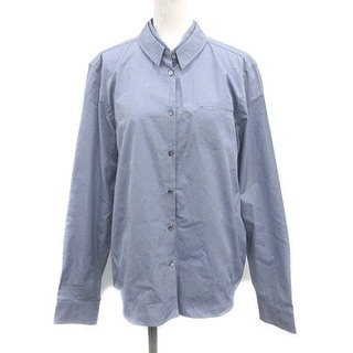Jil Sander - ジルサンダー シャツ ブラウス コットン 長袖 38 M 薄紫 ライトパープル