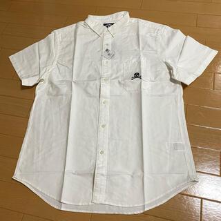 ステューシー(STUSSY)のStussy ステューシー マスターマインド 半袖シャツ 白 XL(シャツ)