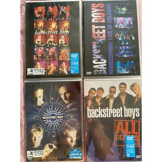 BACKSTREET BOYS  バックストリートボーイズ DVD4枚セット