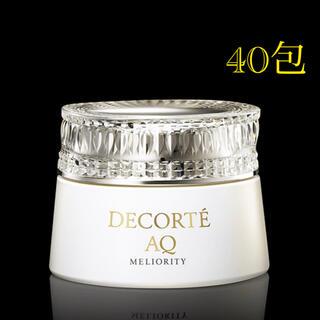 COSME DECORTE - コスメデコルテ AQ ミリオリティ クレンジングクリーム n  3g × 40包