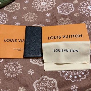 LOUIS VUITTON - ルイ ヴィトン アンプラント レザー iphone ケース