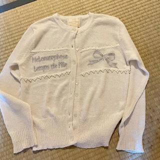 メタモルフォーゼタンドゥフィーユ(metamorphose temps de fille)のmeta セーター(シャツ/ブラウス(長袖/七分))