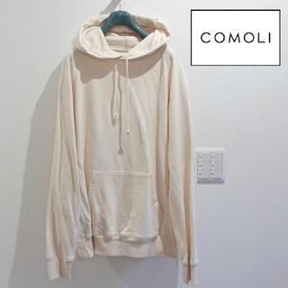 COMOLI - comoli コモリ パーカー エクリュ 2 Mサイズ メンズ