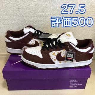 Supreme - Supreme Nike SB Dunk Low Brown 27.5