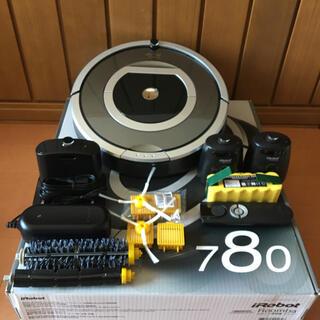 アイロボット(iRobot)のルンバ780 ③   大容量の新品バッテリーに交換済(掃除機)