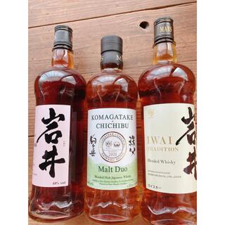 マース(MARS)のマルスウィスキー モルトデュオ 駒ヶ岳×秩父 岩井トラディション ワインカスク(ウイスキー)