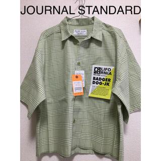 JOURNAL STANDARD - 【新品】JOURNAL STANDARD グリーンチェック ゆるダボ半袖シャツ