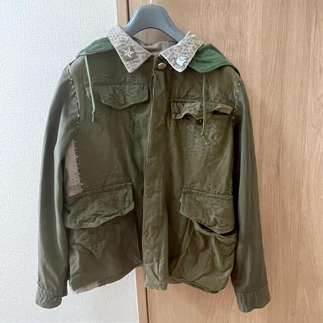 keisuke kanda(ケイスケカンダ)のkeisuke kanda ミリタリー ジャケット レディースのジャケット/アウター(ミリタリージャケット)の商品写真
