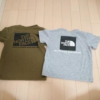 THE NORTH FACE - ノースフェイス キッズTシャツ 2枚セット