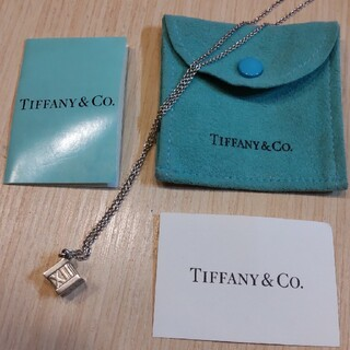 Tiffany & Co. - Tiffany アトラスキューブネックレス