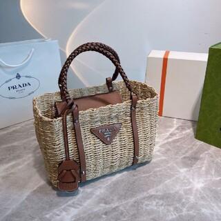 PRADA - PRADA ハンドバッグを編む.