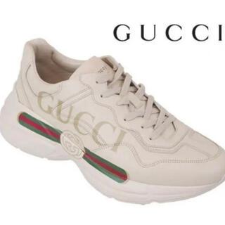 Gucci - GUCCIヴィンテージ レザー スニーカー500877-DRW00-952