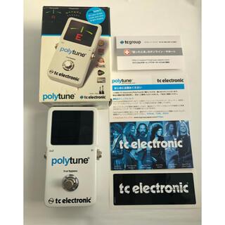 【チューナー】polytune 2 【tc electronic】(エフェクター)