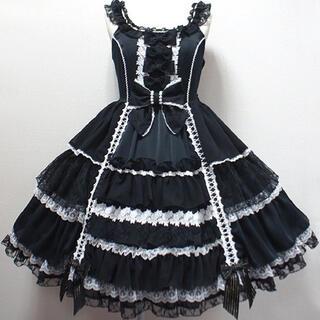 アンジェリックプリティー(Angelic Pretty)のAngelic Pretty Romantic Fleur ジャンパースカート(ミニワンピース)