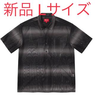 Supreme - SUPREME Liberty Lace S/S Shirt Lサイズ ブラック