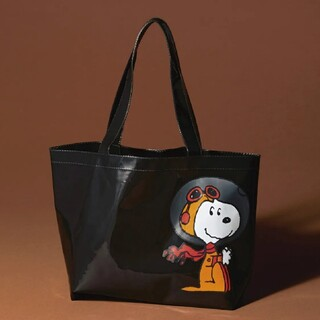 SNOOPY - SNOOPY スヌーピー PVCビッグトート