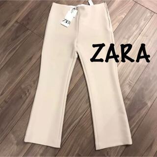 ザラ(ZARA)の新品 ZARA ザラ 5990円 クロップドフレアレギンス パンツ(クロップドパンツ)