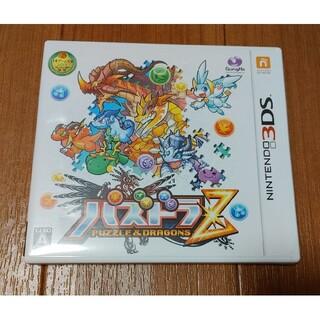 3DS  パズドラZ 中古(携帯用ゲームソフト)
