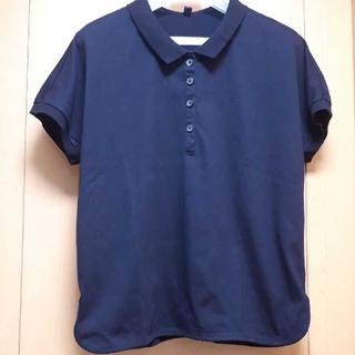 ユニクロ(UNIQLO)のユニクロ 黒 ポロシャツ(ポロシャツ)
