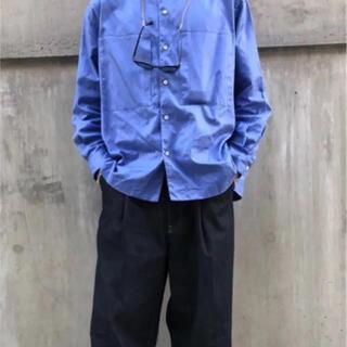 UNUSED - unfil  cotton oxford stand collar shirt