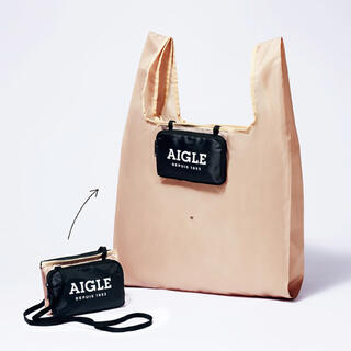 AIGLE - グロー  付録 エーグル  ポシェットとの2way変身エコバッグ
